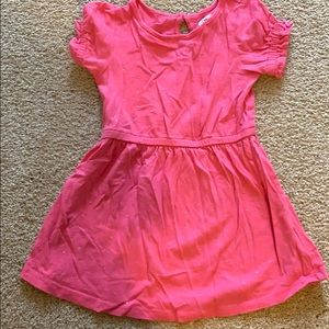 Gap girls shortsleeved dress with silver dots
